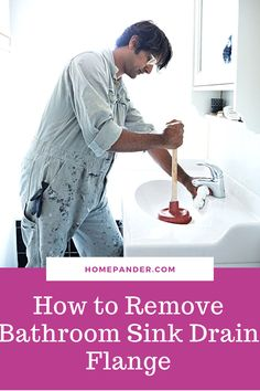 Read our article on how to remove bathroom sink drain flange? Bathtub Repair, Bathroom Repair, Bathroom Sink Drain, Bathroom Cleaning Hacks, House Cleaning Tips, Kitchen Sink, Best Cleaning Products, Shower Cleaner, Work From Home Moms