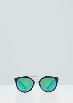 Mirrored lenses sunglasses - More accessories for Woman | MANGO