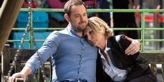 Mick Carter comforts Shirley after her tough day in court in EastEnders