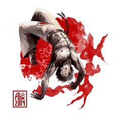 Encres : Capoeira – 768 [ #capoeira #CG #illustration]
