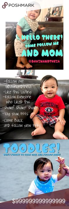 💖Checkout New Photos and Follow New Members💖 💖 MY FIRST FOLLOW GAME 💖  ✅Follow ME @davinandtheia  ✅LIKE this Listing  ✅FOLLOW Everyone who Liked this Listing  ✅SHARE! SHARE! SHARE!  ✅TAG your PFFs  ✅COME BACK and FOLLOW New PFFs  💟Watch my baby and your FOLLOWERS grow 💖😂😘 Davin+Theia Other