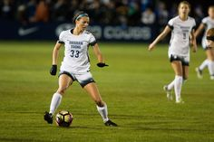 Hatch's late goal helps BYU top Long Beach State - The Daily Universe Byu Sports, Long Beach State, Brigham Young, Universe, Soccer, Goals, Running, Women, Futbol