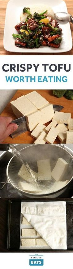 Wonderful [Here's how to cook tofu so good even tofu-haters might come around.] Serious Eats, J. Kenji Lopez-Alt The post [Here's how to cook tofu so good even tofu-haters might come around.] Serious Eats, J. Kenji Lopez-Alt… appeared first on Trupsy . Veggie Recipes, Whole Food Recipes, Cooking Recipes, Healthy Recipes, Cooking Tofu, Tufu Recipes, Tofu Dinner Recipes, Vegetarian Recipes Tofu, Recipies