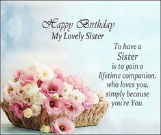 Birthday Messages For Sister, Birthday Wishes For Sister - Wishes Disney Birthday Greetings For Sister, Birthday Messages For Sister, Birthday Wishes For Lover, Message For Sister, Birthday Wishes For Daughter, Best Birthday Quotes, Birthday Wishes And Images, Sister Birthday Quotes, Happy Birthday Pictures