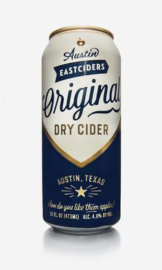 Austin Eastsiders packaging designed by Simon Walker | #packaging #design