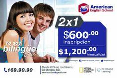 Vive la #experiencia de #SerBilingüe @ American English School Obregón  #Inglés #English #Idiomas #EnglishON