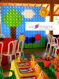 Caterpillar Baby Einstein Party