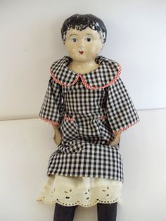 Antique Minerva Tin Head Doll  Made in by UrbanRenewalDesigns, $48.00