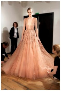 Backstage at Elie Saab 2014-perfect for any outstanding occasion!