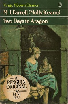 Two Days in Aragon by M.J. Farrell (Molly Keane) cover, 'The Blue Dress' by Mainie Jellett