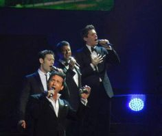 Still my absolutely favorite group--Il Divo--from their recent concert in Las Vegas!