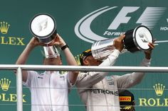 """I was 43 points behind at one stage, so to keep working on that gap and turn it around is great"""" @LewisHamilton #F1"""
