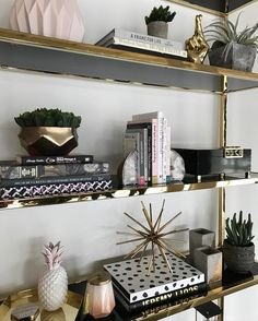 """1,318 Likes, 18 Comments - High Fashion Home (@highfashionhome) on Instagram: """"SHELFIE 😍 {shop link in profile} #fun #accessories #decorating #highfashionhome"""""""