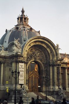Petit Palais, París, Francia - uno de mis lugares favoritos en París para exposiciones y exposiciones de arte.