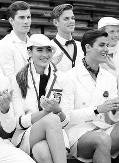 Polo Ralph Lauren Wimbledon Summer 2014 Campaign and Lookbook (Polo Ralph Lauren) Polo Ralph Lauren, Ralph Lauren Style, Preppy Men, Preppy Style, Frat Guys, Wimbledon Tennis, Ivy Style, Vintage Tennis, Old Money