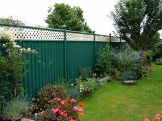 25 Year Guaranteed Durable Garden Fencing | Colourfence