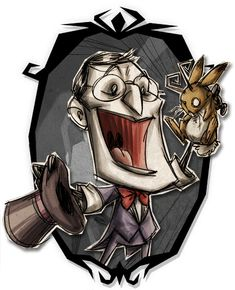 Don't Starve Together - Maxwell Unshadow Art