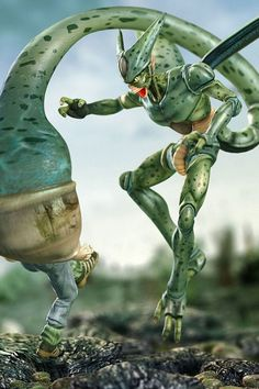 DBZ imperfect cell HD