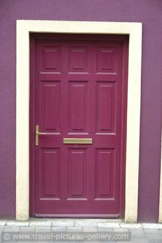 Travel Pictures Gallery - cashel-0009- colourful doors