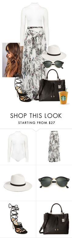 2016/935 by dimceandovski on Polyvore featuring Matthew Williamson, Topshop, Steve Madden, Frye, Ray-Ban, Janessa Leone and MANGO