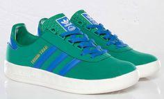 adidas Trimm-Trab - Twee Green & Satellite Blue   KicksOnFire.com