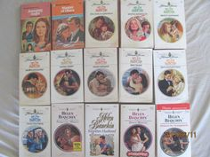 HELEN BIANCHIN - HARLEQUIN ROMACE'S – LOT OF 14 PAPERBACK BOOKS – Combine ship