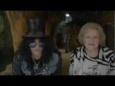 Slash & Betty White Premier Commercial for the LAIR @ LA ZOO