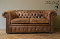 shabby chesterfield