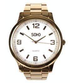 Val op met een mooi horloge.