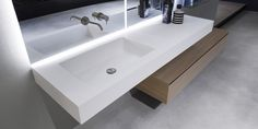 do By antonio lupi design, flumood® washbasin countertop design Nevio Tellatin