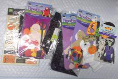 Halloween stickers lot Ek Success Paperkins Jolees Making Memories  #EkSuccessMakingMemoriesJolees