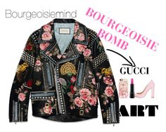 """""""Bourgeoisie Bomb"""" by bourgeoisiemind on Polyvore featuring Gucci, Siren, MAC Cosmetics, Casetify, women's clothing, women, female, woman, misses and juniors"""