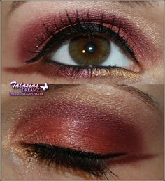 Red Eye Make Up - Datum: 25.07.2011  http://talasia.blogspot.de/2011/08/amu-crazzischnuggi-und-steffi-pigmente.html