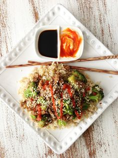 Healthified Crock Pot Beef & Broccoli by The Skinny Fork (reduced sugar and soy sauce)