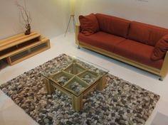 Aprenda Como Fazer um Tapete de Pedras aí na Sua Casa , É Bem Fácil e Barato - Artesanato Total