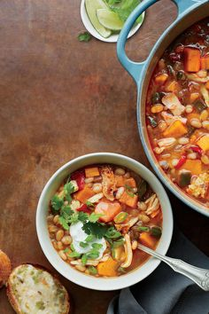 Cinco de Mayo Recipes: Tex-Mex Chicken Chili with Lime