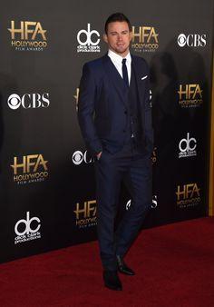 Pin for Later: All' eure Lieblingsstars drängelten sich bei den Hollywood Film Awards Channing Tatum