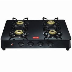 Buy online #Prestige Gas Stove GT04 A1 4  Burner for Rs.7,200/-