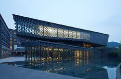 Zhi museum China by Kengo Kuma