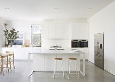 Melbourne Designers Anna Pipkorn and Jane Kilpatrick have created a light filled family home renovation with this Bellevue Hill house in Sydney's east.