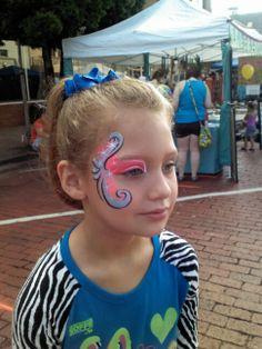 Swirls & Sparkles Face paint