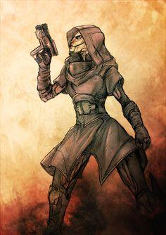 Mass Effect,фэндомы,ME art,Nyreen
