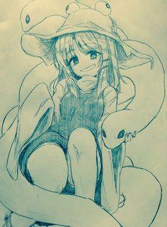 Manga Anime, Otaku Anime, Manga Art, Anime Face Drawing, Anime Ninja, Anime Base, Anime Sketch, Kawaii Anime Girl, Anime Comics