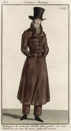 Dickensian Dandy - moika-palace: Men's Redingotes, Costumes...
