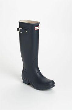0750c1bafb9 Hunter Original Tall Waterproof Rain Boot (Women)