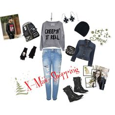"""X-Mas-Shopping"" by darksoul29 on Polyvore Shoe Bag, Polyvore, Stuff To Buy, Outfits, Shopping, Shoes, Collection, Design, Women"