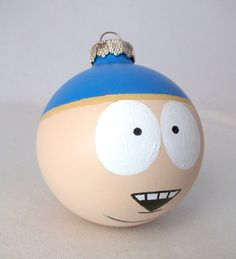 South+Park+Cartman+Painted+Holiday+Christmas+by+GingerPots+on+Etsy,+$16.00
