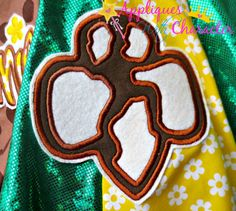 Scout Symbol Applique Embroidery Machine by appliqueswcharacter Embroidery Applique, Machine Embroidery Designs, Girl Scout Shirts, Scouting, Girl Scouts, Symbols, Unique Jewelry, Handmade Gifts, Vintage