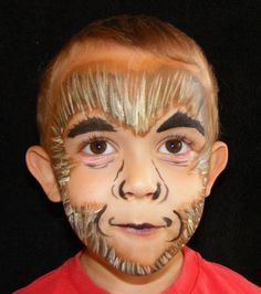 Face Painting Monkey by JoJos Face Painting, via Flickr