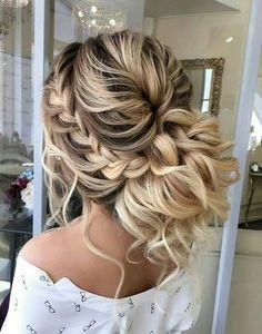 loose braid bun style 2018